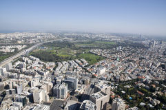 Tel Aviv cityscape Royalty Free Stock Images