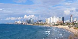 Tel aviv coast line Stock Photography
