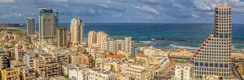 Tel Aviv coastal stock image
