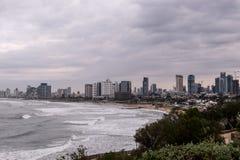 Tel Aviv Coastline Stock Image