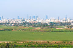 Tel Aviv d'Ariel Sharon Park Photos libres de droits