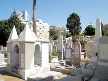 Tel Aviv de Oude Begraafplaats Oktober 2010 Stock Fotografie
