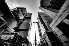 Tel-Aviv - 9 December, 2016: Tall buildings in Tel Aviv city cen Royalty Free Stock Photography