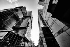 Tel-Aviv - 9 December, 2016: Tall buildings in Tel Aviv city cen Stock Photo