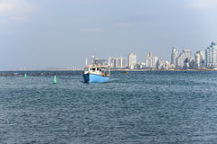 Tel Aviv in der Wintersaison Stockfoto