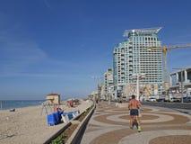 TEL AVIV - Die Seeseitepromenade Stockfotografie