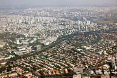 Tel Aviv, distretto ad ovest Fotografia Stock