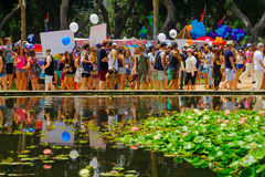 Tel Aviv dumy parada 2016 Zdjęcie Stock