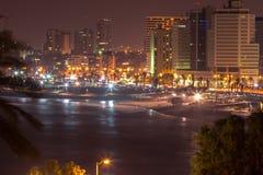 Tel Aviv Dusk Panorama, Israel Stock Images