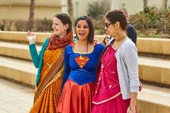 Tel Aviv - 20 février 2017 : Passionnés de Krishna de lièvres célébrant d Photos libres de droits
