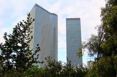 TEL AVIV - FEBRUARI 21: Het Centrum 21 Februari, 2012 van Azrieli in Tel Aviv, IL Royalty-vrije Stock Foto's