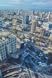 Tel Aviv - February 2, 2017: Aerial photography of the city Tel Stock Photos