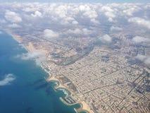 Tel Aviv från luften Royaltyfria Foton