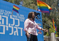Tel Aviv gay pride Stock Images
