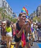 Tel Aviv gay pride Stock Photo