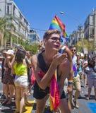 Tel Aviv gay pride Stock Photo