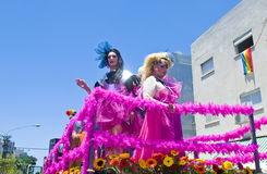 Tel Aviv gay pride Royalty Free Stock Photos