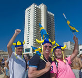 Tel Aviv gay pride party Royalty Free Stock Photo