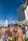 Tel Aviv gay pride party Royalty Free Stock Images