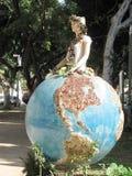 Tel Aviv Globe 2007 Stock Image