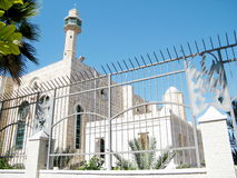 Tel Aviv Hasan-bey Mosque fence 2010 Stock Images
