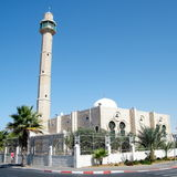 Tel Aviv Hasan-bey Mosque Minaret 2010 Royalty Free Stock Photography