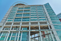 Tel Aviv - 10 02 2017: Ihilov centrum medyczne w Tel Aviv, buildi Obrazy Royalty Free