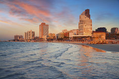 Tel Aviv. Royalty Free Stock Photo