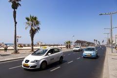 Été à la plage à Tel Aviv Photos libres de droits