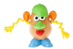 M. Potato Head - ratant son coup au loin photos libres de droits
