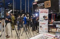 TEL AVIV, ISRAËL - la conférence de Th des 1-8 novembre photographie 2013 Photo libre de droits