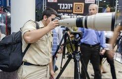 TEL AVIV, ISRAËL - la conférence de Th des 1-8 novembre photographie 2013 Photos stock