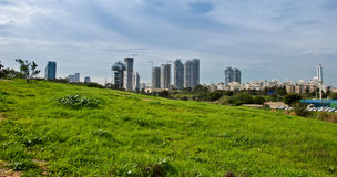 Tel Aviv, Israel. View of Tel Aviv - the largest city in Israel stock photos
