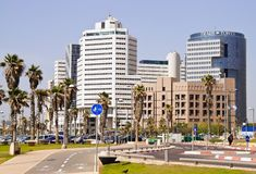 Tel Aviv in Israel Stock Photography