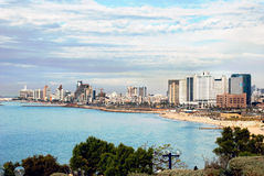 Tel Aviv Israel Lizenzfreie Stockbilder
