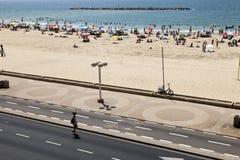 Summer at the Beach in Tel-Aviv Royalty Free Stock Photos