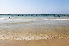 Summer at the Beach in Tel-Aviv Stock Photography