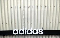 Adidas-Schmutz Lizenzfreies Stockfoto