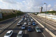Hauptverkehrszeit-Verkehr Stockfoto
