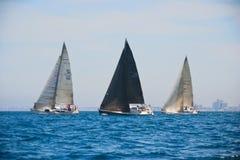Tel Aviv, Israel - 15. Mai 2010: Ofek Yachts Schalenwettbewerb Lizenzfreie Stockbilder