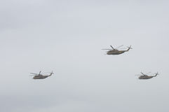TEL AVIV, ISRAEL 2014 May 6: Israeli Air Force helicopters at ai Royalty Free Stock Images