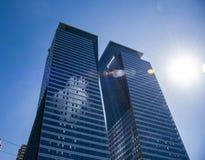 TEL AVIV, ISRAEL New Architecture-Wolkenkratzer Lizenzfreie Stockfotografie