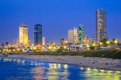 Tel Aviv, Israel Skyline stock photo