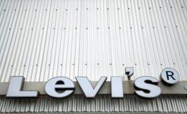 Levi's Grunge Stock Image
