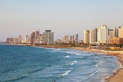 Tel Aviv, Israel. View from Jaffa Royalty Free Stock Photos