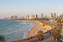 Tel Aviv, Israel. View from Jaffa Stock Photography