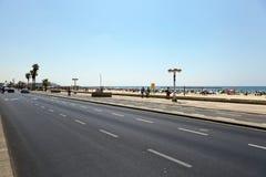 Estate alla spiaggia a Tel Aviv Immagini Stock Libere da Diritti