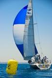 Tel Aviv, Israele - 15 maggio 2010: Concorrenza della tazza degli yacht di Ofek Immagine Stock Libera da Diritti