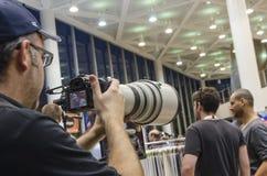 TEL AVIV, IZRAEL konferencja fotografuje 2013 - PAŹDZIERNIKA 31, 8th - Obraz Royalty Free