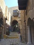 Tel Aviv, Izrael stary Yaffo Jaffa, Yafo (,) Obraz Royalty Free